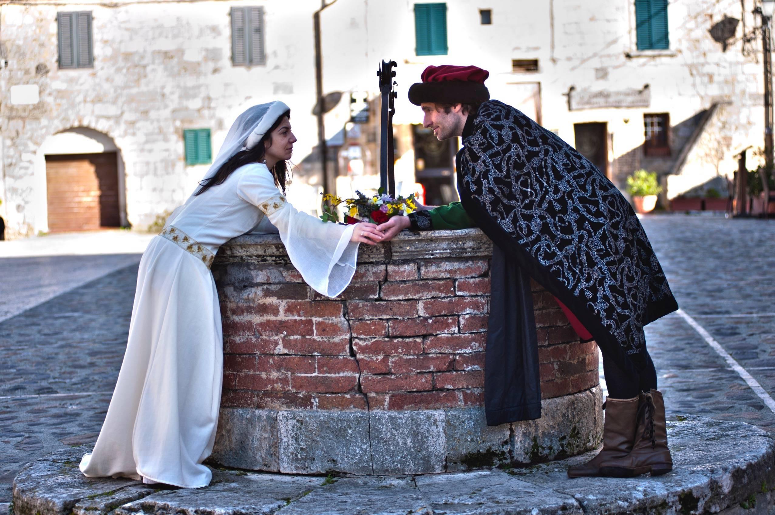 medieval wedding ceremony - HD2553×1699